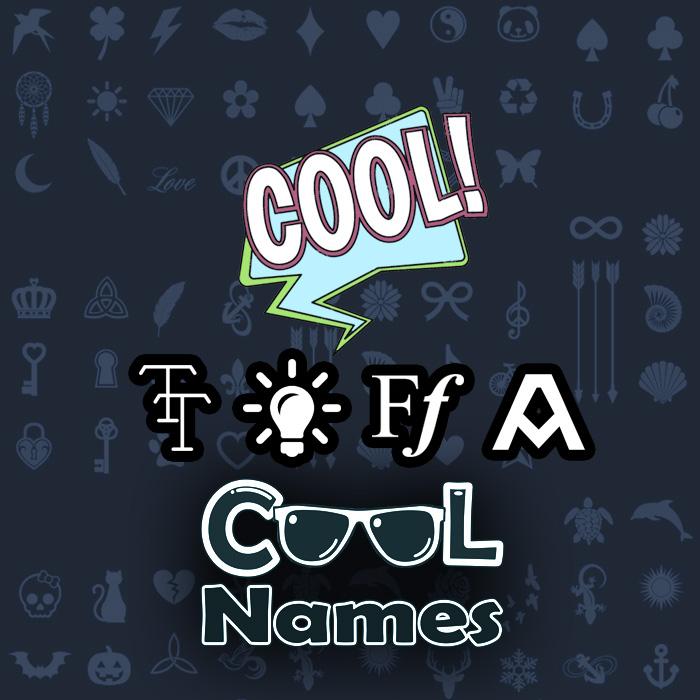 Kabeh paesan lan karakter kanggo 😍 Bhar - Cool jeneng hiasan 😎